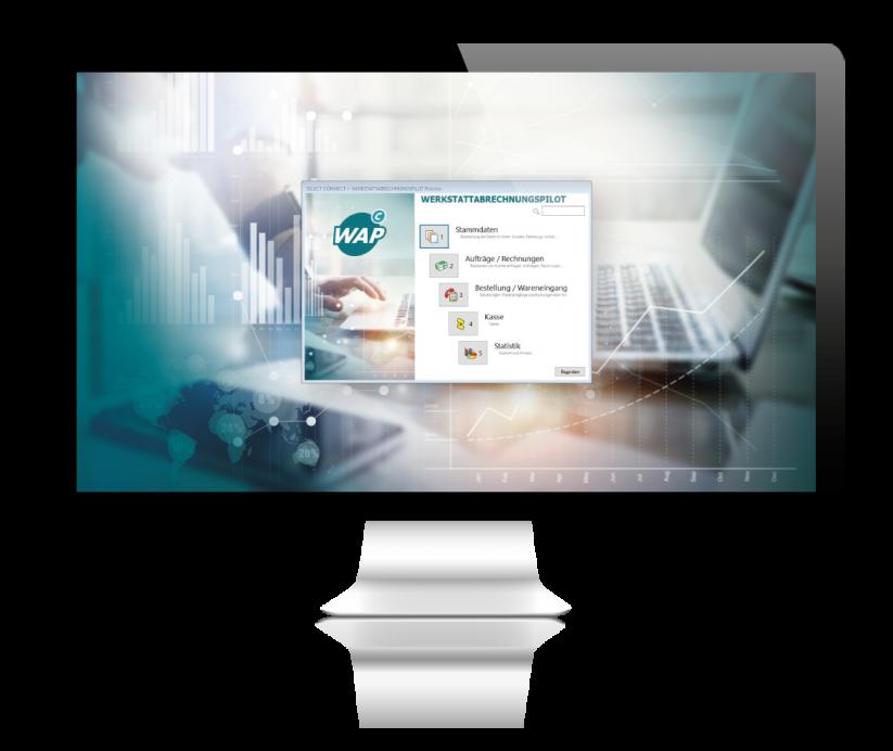 Werkstattabrechnungspilot Desktop
